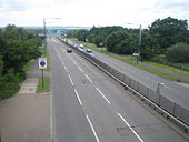 A1 Great North Way north of Hendon - Geograph - 475104.jpg