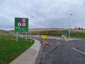 A90 Fastlink - Stonehaven Junction - roundabout exit.jpg