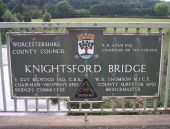 Knightsford Bridge Plaque - Geograph - 554531.jpg