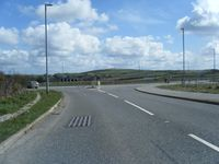 A30 westbound exit slip at roundabout - Geograph - 1808868.jpg